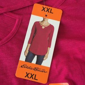 Eddie Bauer women's shirt XXL